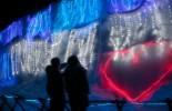 冬のロマンチック軽井沢イルミネーション巡り/氷柱白糸イルミネーションとチャーチストリート軽井沢【シャトルタクシー/当日13時まで申込可】