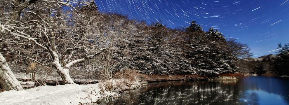 軽井沢の冬景色 1