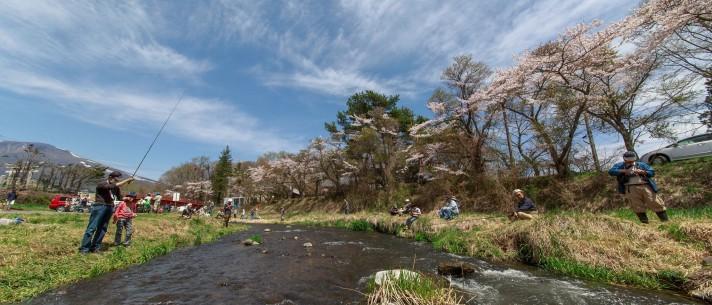 » 渓流釣りの集い(湯川橋周辺)9:00〜15:00/若葉まつり2019