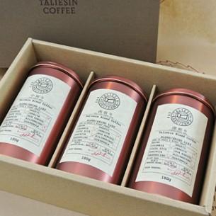 » タリアセンコーヒー ブレンドコーヒーギフト3本セット