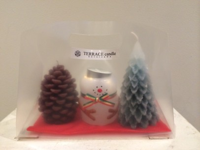 » TERRACE candle – Winter gift set