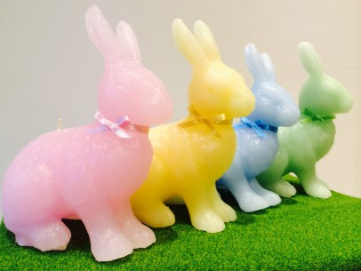 » TERRACE candle – Happy rabbit