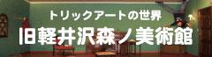 旧軽井沢森ノ美術館 トリックアートの世界
