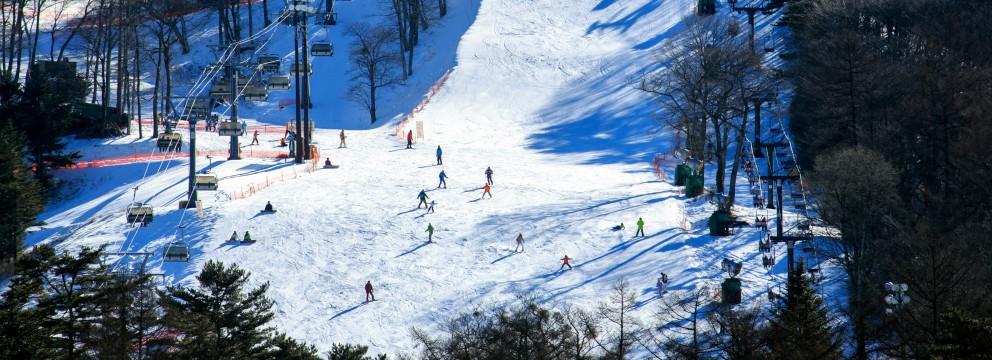 軽井沢の冬景色 2