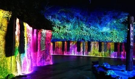 » 白糸の滝ライトアップ&プロジェクションマッピング2018 7月27日(金)より開催!