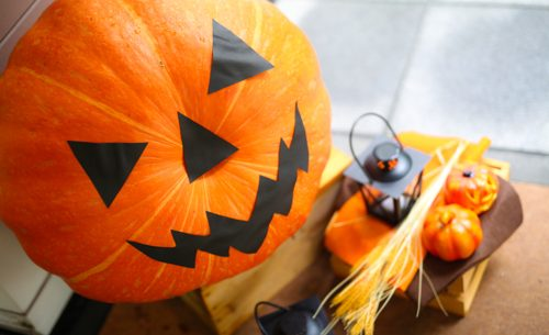 » かぼちゃの重さ当て&ジャックを探せ!/旧軽井沢ホテル音羽ノ森