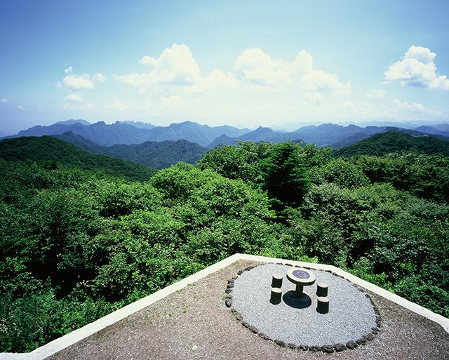 見晴台から富士山方向