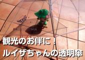 ルイザちゃんの透明傘